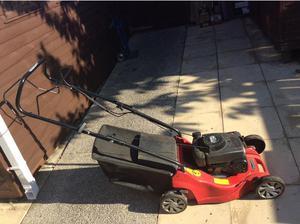Mount field petrol lawn mower in Seaham