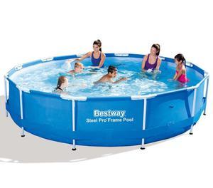 vidaXL Bestway Steel Pro Round Swimming Pool