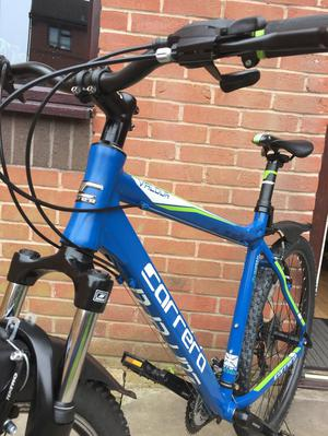 A Carrera Vulcan mountain bike condition like new