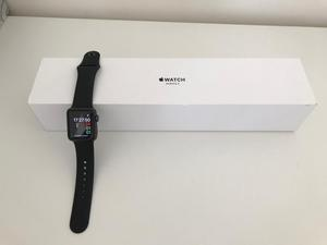 Apple Watch Series 3 38mm (GPS) Space Grey with black Sport Band £260 ONO