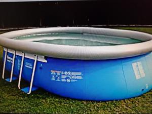 """BestWay Steel Pro 20ft x 12ft x 48"""" Oval Framed Swimming"""