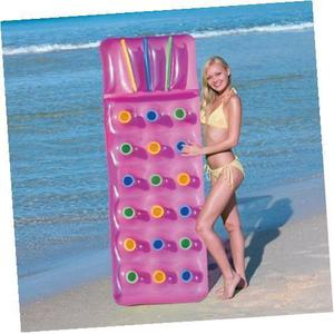 Bestway Inflatable 18 Pocket Sun Lounger Lilo Swimming Pool