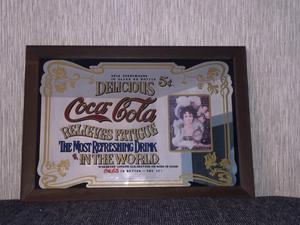 Coca Cola original bar mirror