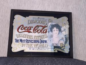 Coca Cola vintage bar mirror