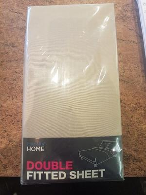 Fitted Double Bed Sheet Brand New Still In Packaging For Sale