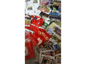 Football memorabilia in Wishaw