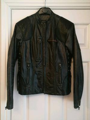 Genuine Harley Davidson Leather jacket, ladies Medium.
