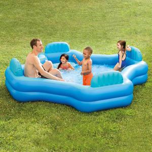 "Intex Inflatable Swim Center Family Lounge Pool, 105"" x 105"""