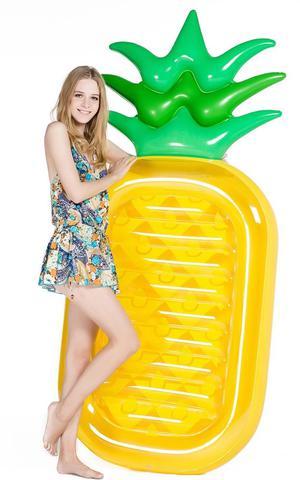 "Jasonwell Giant 76"" Pineapple Pool Party Float Raft Summer"
