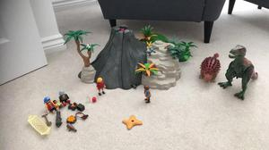 Play mobil Volcano