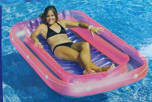 SunTan Tub Inflatable Island Lounger for Swimming Pools