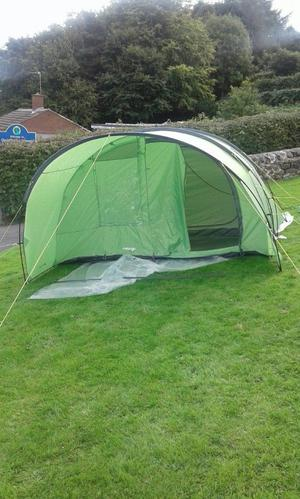 Vango 5 man tent and footprint never been slept in & Kampa carbis 5 man tent | Posot Class