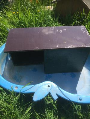 2 x Duck nesting box