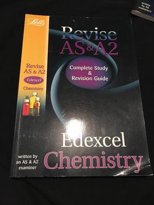 A level edexcel chemistry book