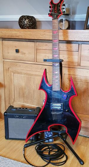 B.c Rich Avenger electric guitar