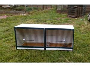 Canary Double breeding cages in Honiton