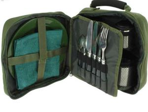 Compact Fishing, Camping, Picnic, Day, Cutlery Set. - New unused
