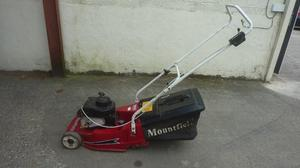 Mountfield petrol roller mower