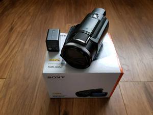 Sony AX53 Camcorder NEW!