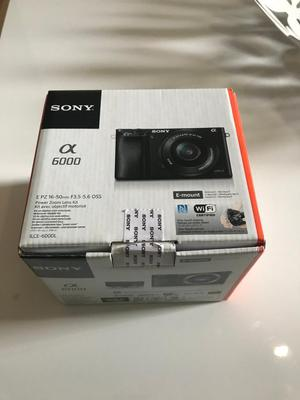 Sony camera a with lens