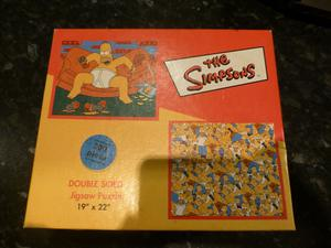 THE SIMPSONS DOUBLE SIDED 200 PIECE JIGSAW PUZZLE