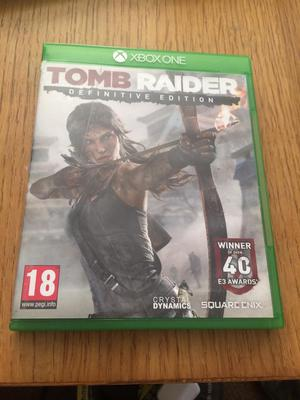 Tomb raider infinitive edition!!