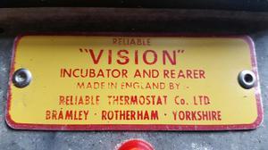 Vision 100 egg incubator
