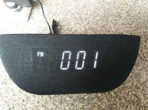 AudioSonic Bluetooth Clock Radio Speaker
