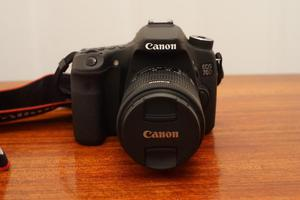 Canon 70D camera + mm lens - like new with box