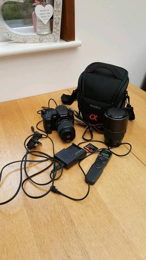 Dslr canera sony a200 plus accessories