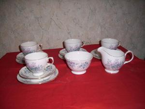 Four Place Bone China Tea set