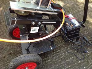 GDK Automatic Clay Trap on 2 Wheel Trolley