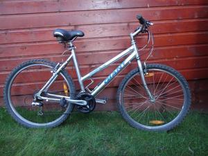Giant boulder alu lite bike, 26 inch wheels, 21 gears, 19.5 inch lightweight frame, working order