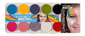 "KREUL Kit de maquillage ""Fantasy Make Up"" Girls 10 Couleurs"