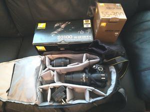 Nikon D Digital SLR Camera with mm VR Lens Kit+mm lens