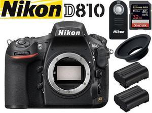 Nikon D810 BIG Bundle - Body + Extras, Excellent Condition,