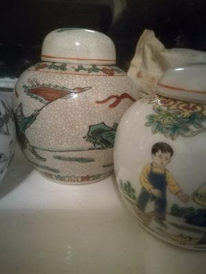Pretty ginger jars for sale