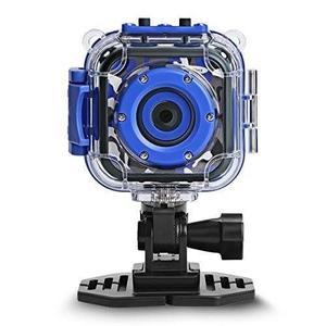 ROGRACE Kids Camera Waterproof HD Action Cam Digital Camera P Underwater Sports Camera