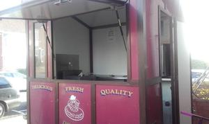 catering trailer, everything included to make and sell fresh donuts,