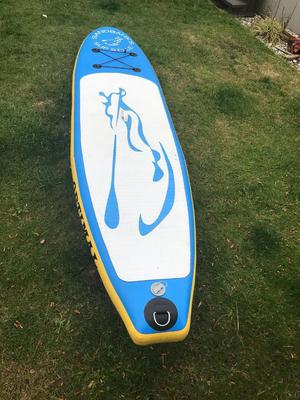10ft 6 paddleboard sup with pump and paddle