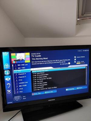 """Grundig 32 VLE  BH 32"""" Full HD Smart TV Black - LED TV"""