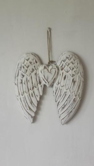Large wooden Angel wings
