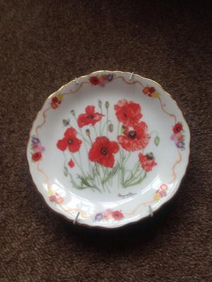 Royal British Legion Field Poppy collectable plate