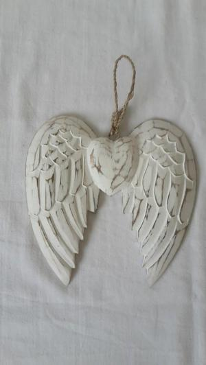 Small wooden Angel wings