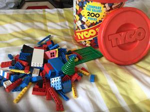 Vintage Tyco super blocks over 170