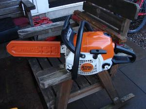 stihl ms181 chainsaw hardly used excellent condition fitted with new chain.