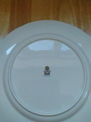 4 Paragon Enchantment Dinner Plates