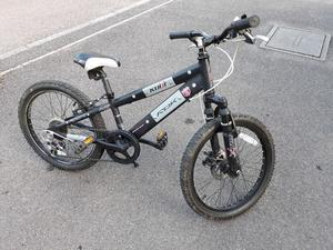 Black BMX style bike - suit 5 to 8 year old