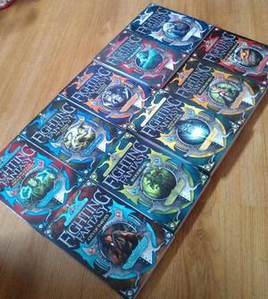 Fighting Fantasy Gamebooks By Steve Jackson and Ian Livingstone, Set of 10