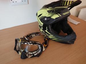 Fly Racing full face helmet